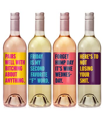 Funny Custom Wine Bottle Labels Printing - iCustomLabel