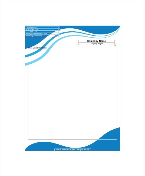 12+ Letterhead Templates - Free Sample, Example, Format | Free ...