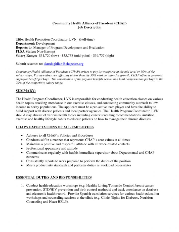 Sample Lpn Resume No Experience. lvn resume template licensed ...