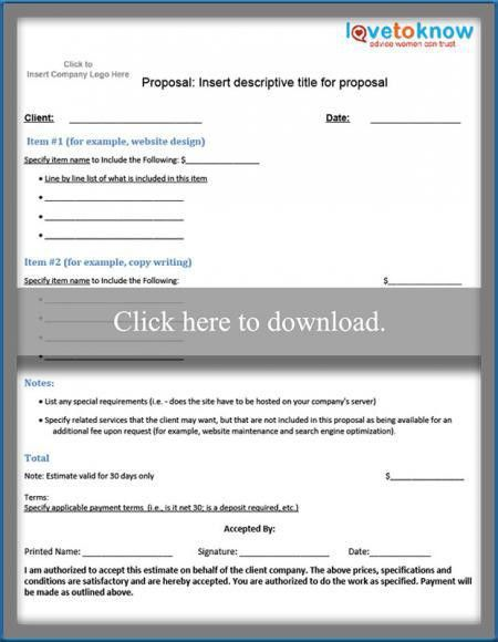 Free Business Proposal Samples