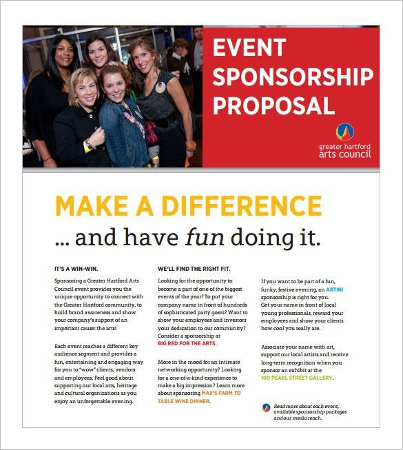 Event Proposal Template – 12+ Free Sample, Example, Format ...