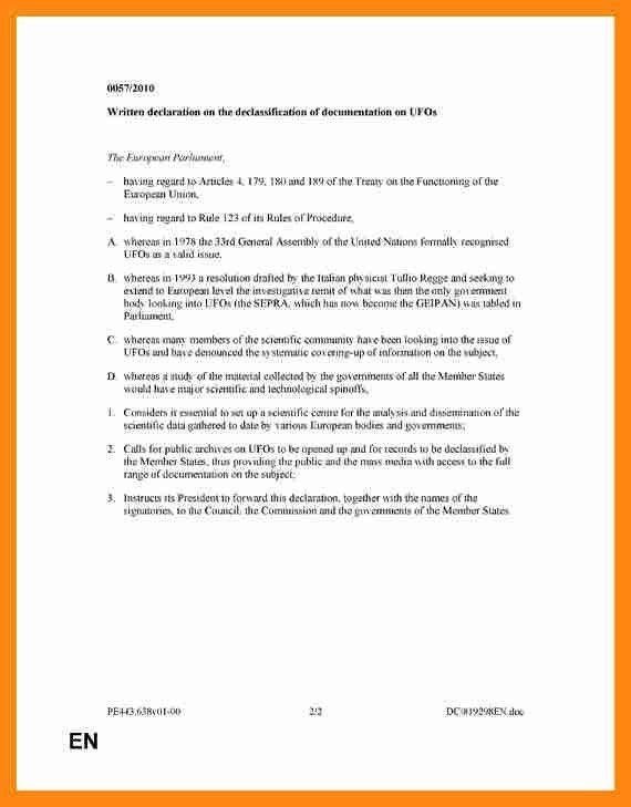 4+ written declaration sample   graphic-resume