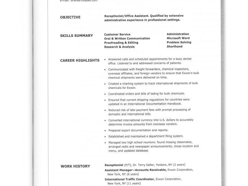 Freight forwarding resume format - freight forwarder resume sample
