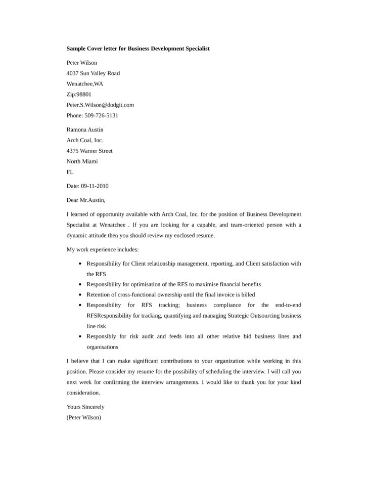 business development executive cover letter this ppt file includes ...
