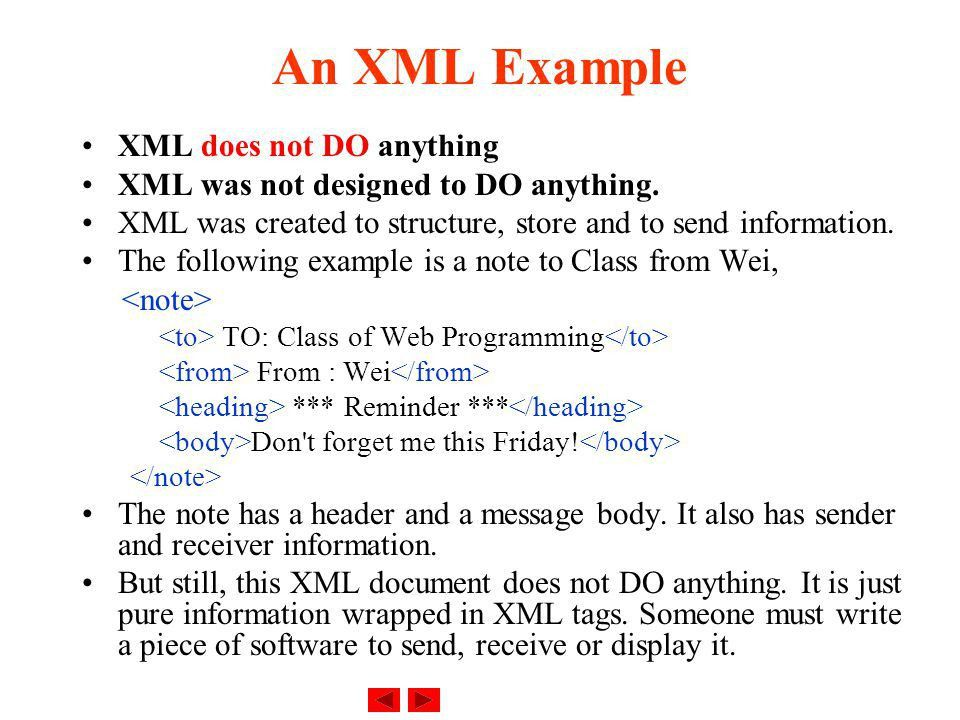 eXtensible Markup Language (XML) - ppt download