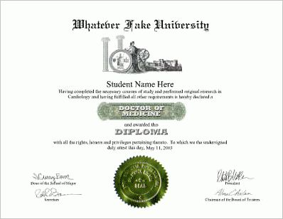 Fake degree packages- MBA, Law, MD, PhD, MS, Divinity, Master of ...