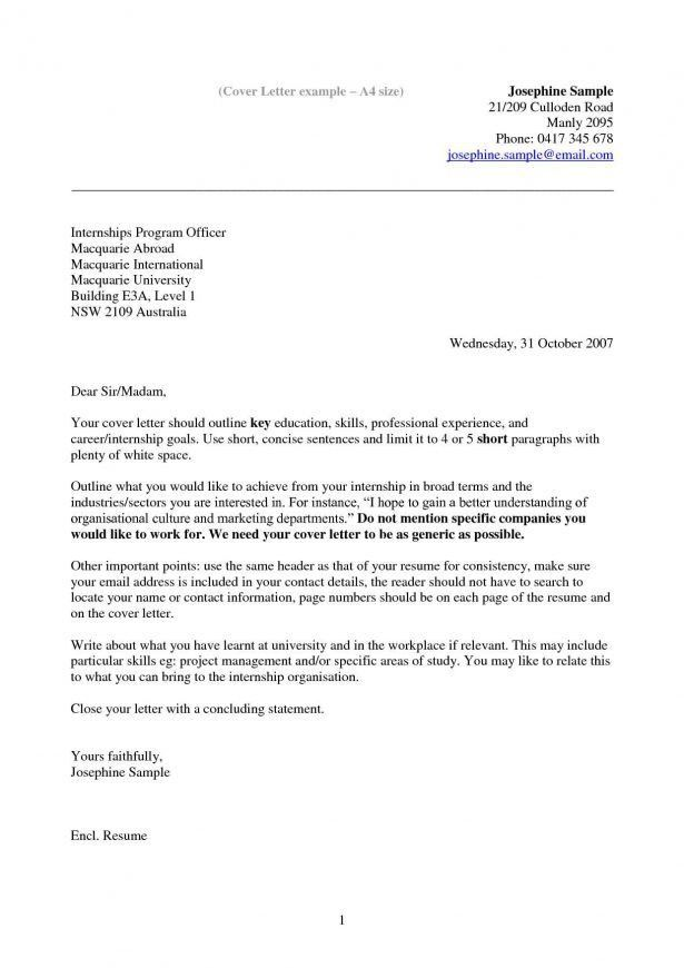 what to write in a covering letter 7 example of cover. student ...