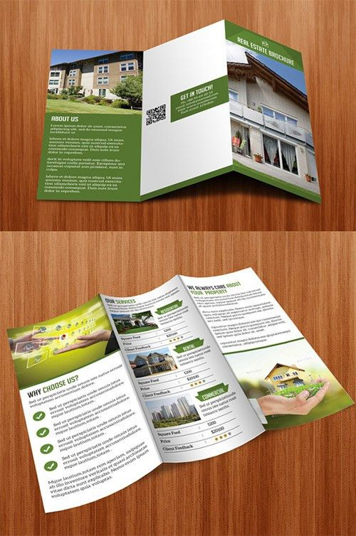 30 Creative Examples of Tri-Fold Brochure Designs | Brochures, Tri ...