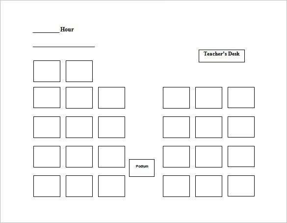 Wedding Seating Chart Template Excel | Template idea