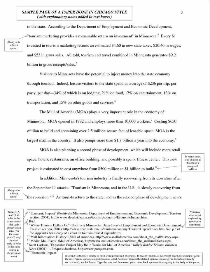 turabian essay