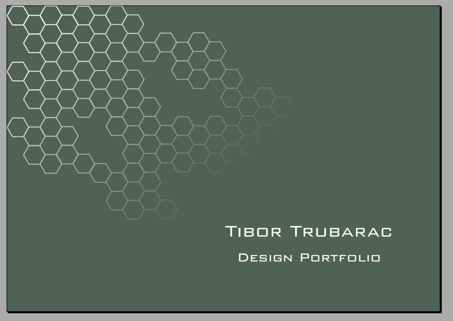 Design portfolio front page by Doliprane4 on DeviantArt