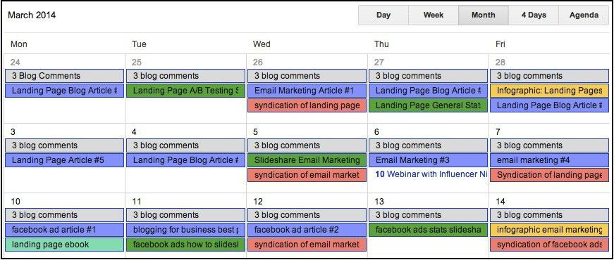 4 Steps to an Awesome Content Calendar (and 6 Things You Need on It)