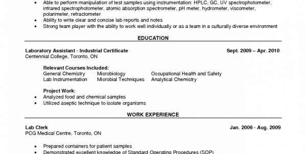restaurant manager resume examples laboratory technician resume ...