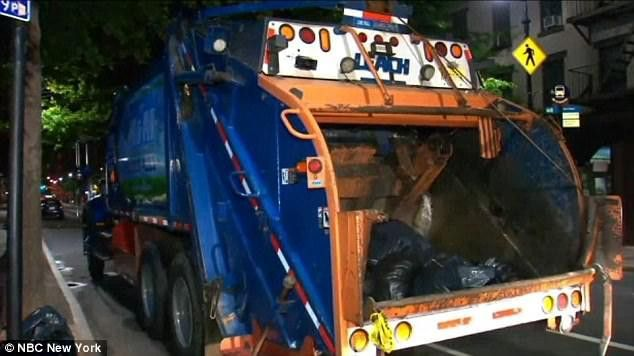 Woman dies after being hit by garbage truck in New York | Daily ...