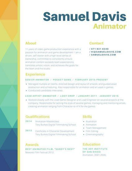 Download 35 Free Creative Resume Cv Templates Xdesigns Modern ...