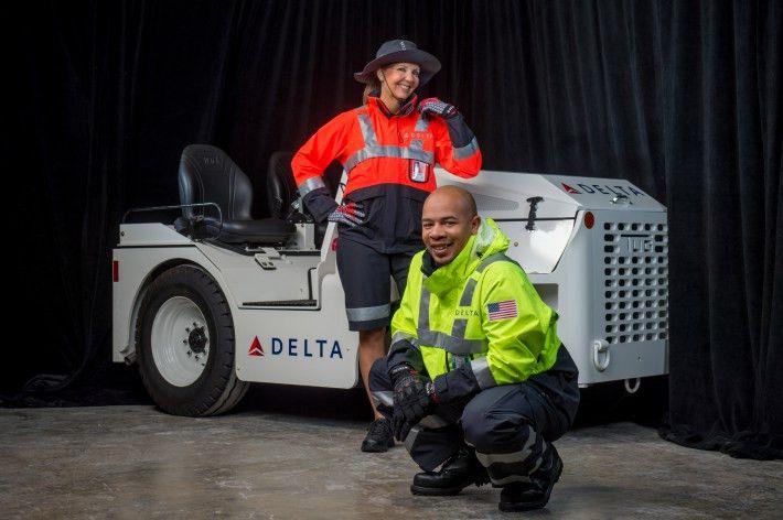 Delta Reveals New Uniforms By Zac Posen | TheDesignAir