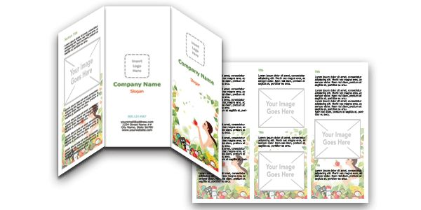 Download FREE Microsoft Word Salon and Spa Brochure Templates!