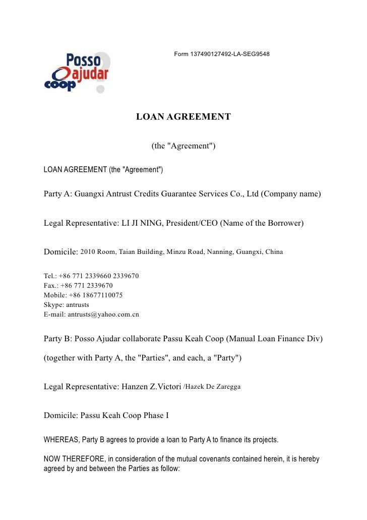 Money Repayment Agreement Template | Create professional resumes ...