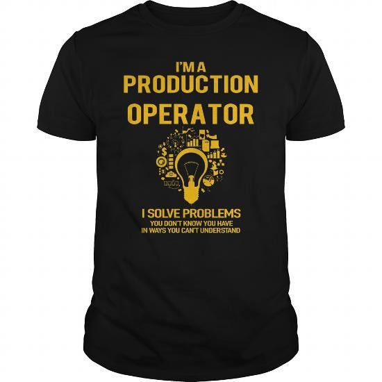 Production Operator operator shirt, operator mug, operator gifts ...