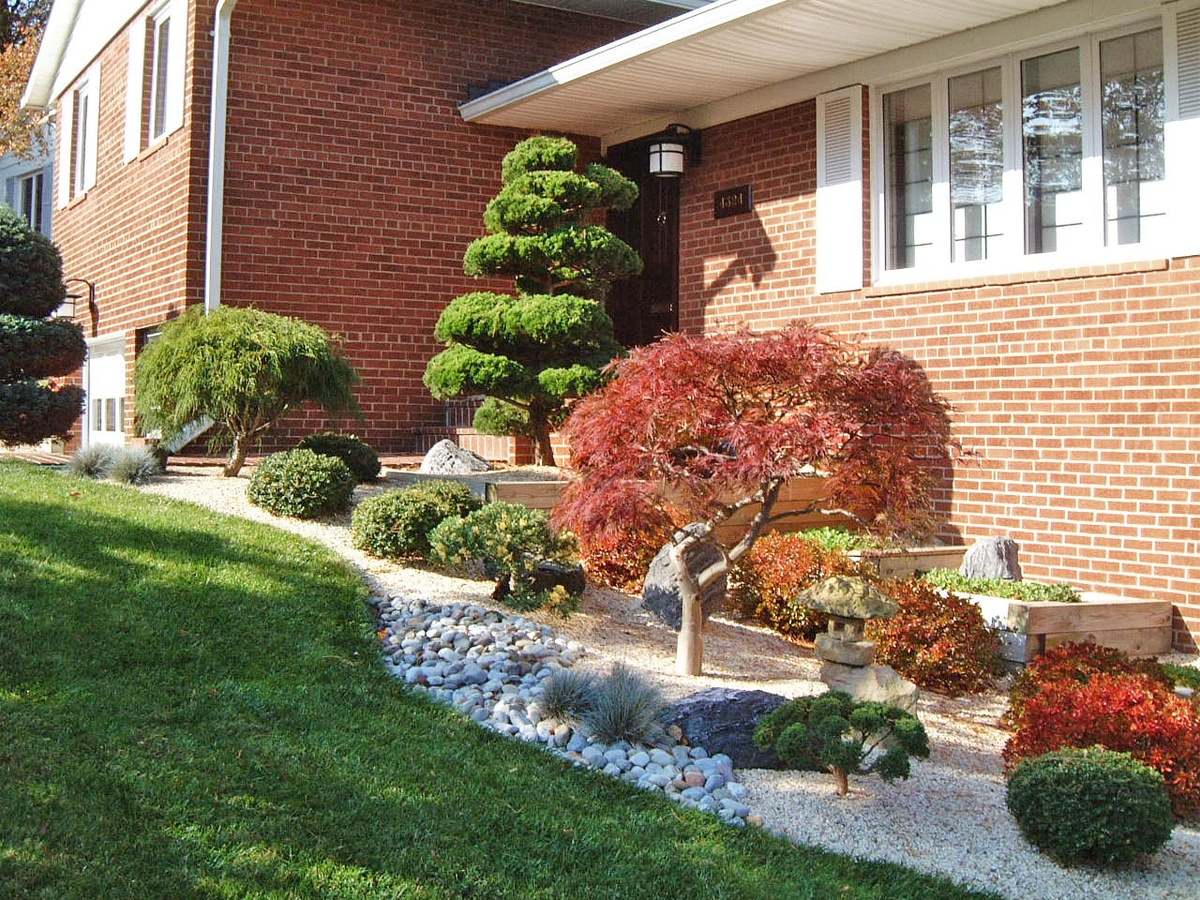 Pinterest the world s catalog of ideas for Small front yard japanese garden