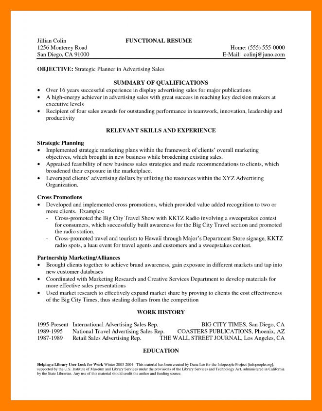 8+ resume summary section | appeal leter