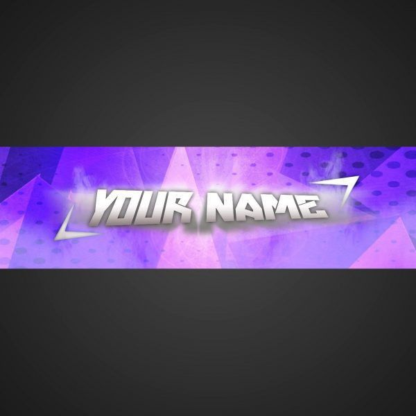 Clean, Simple, Blue | Youtube Banner Template | Photoshop Cs6 ...