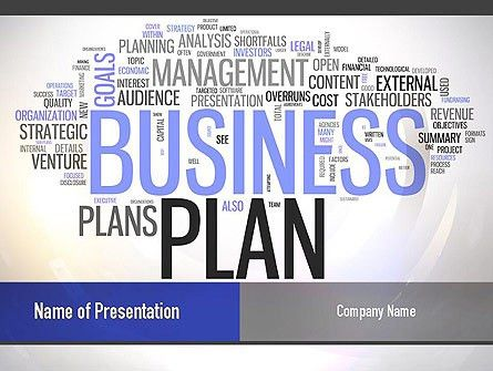 Business Plan Word Cloud PowerPoint Template, Backgrounds | 10888 ...
