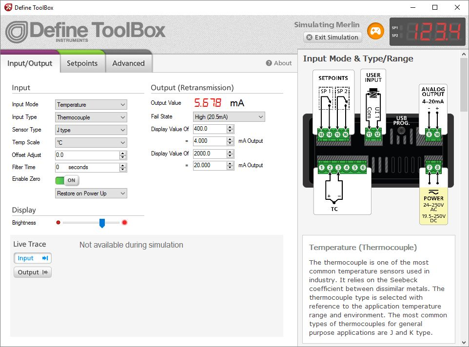 ToolBox: configuration software for Transmitters, Merlin & Twin ...