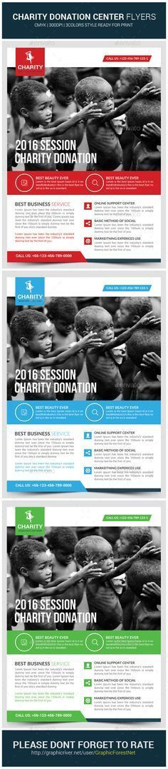 Donation Church Flyer Template | Flyer template, Churches and ...