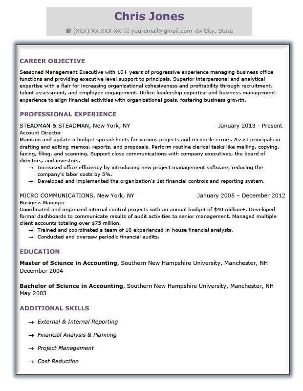 formal resume template advanced resume templates resume genius