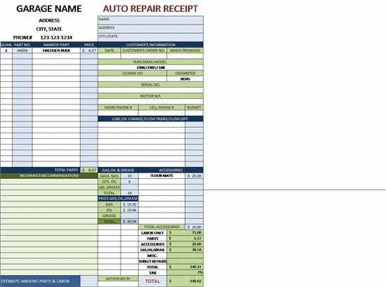 Download Service Repair Order Template | rabitah.net