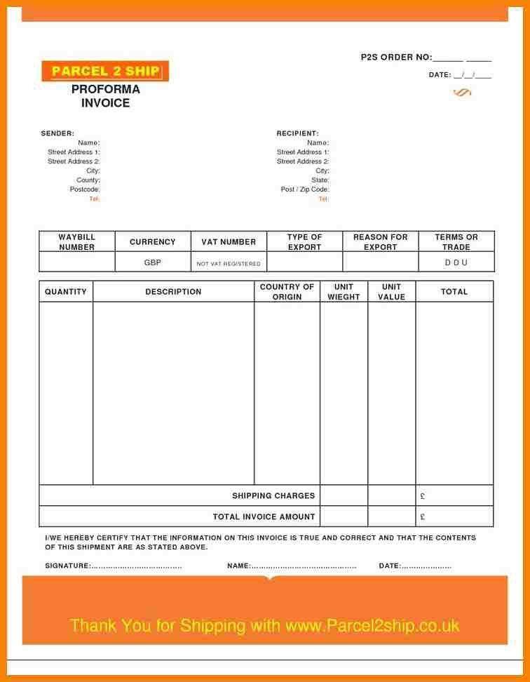 8+ proforma invoice template | hr cover letter