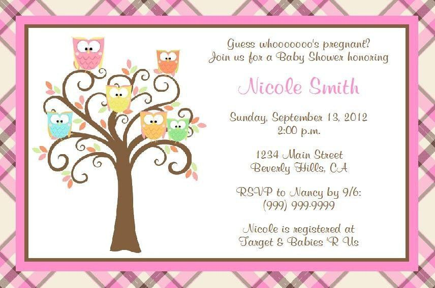 Free Baby Shower Invitation Templates | Baby Shower Invitations