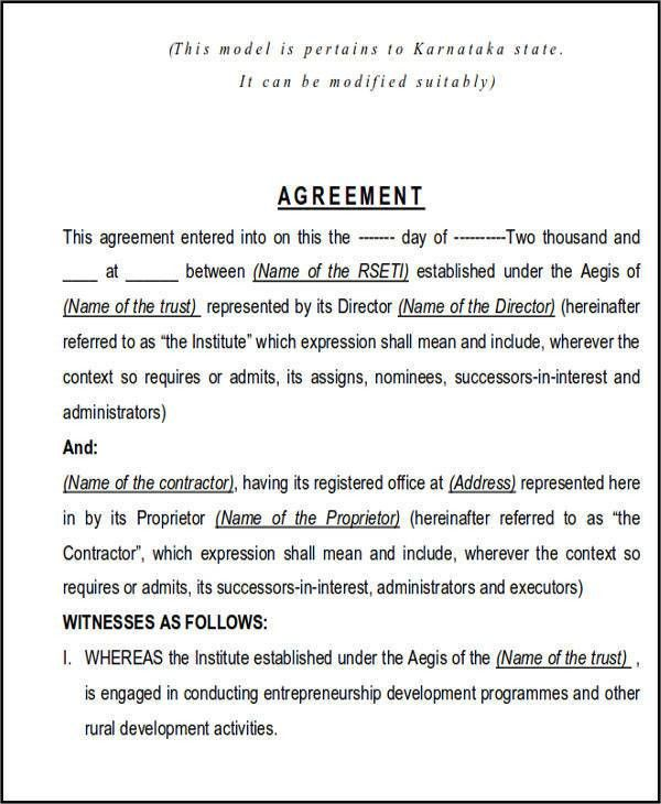 Construction Contract Agreement. Payment Plan Agreement Template ...