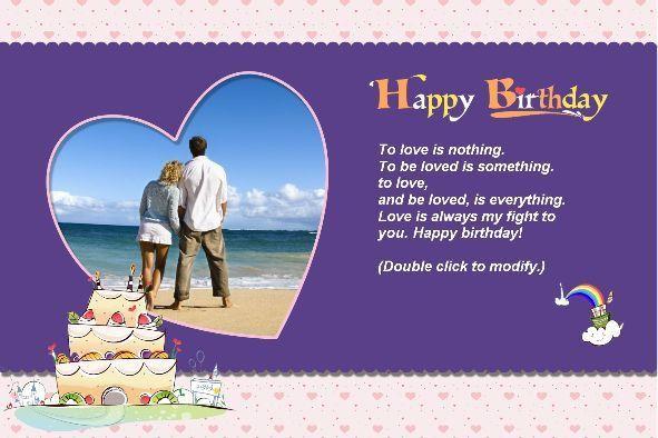 Free photo templates - Happy Birthday Cards (2)