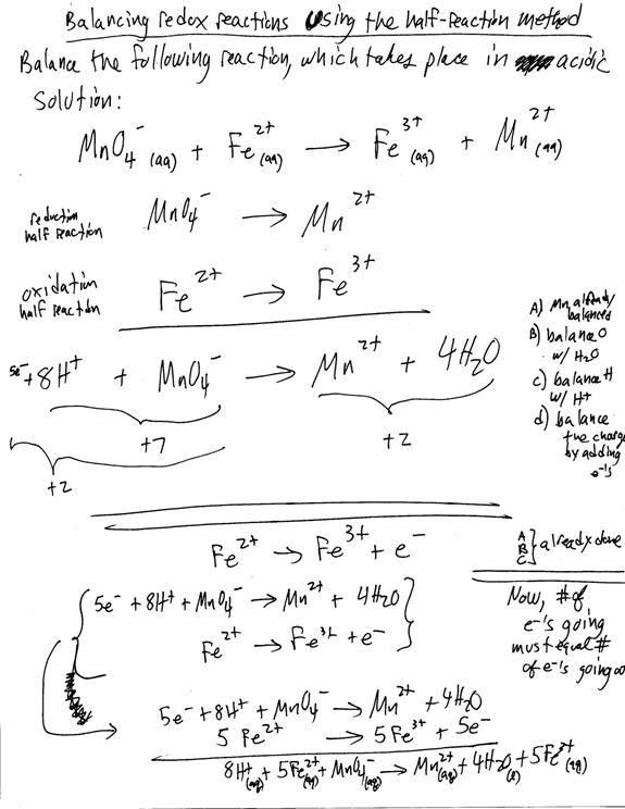 Lecture Notes: Redox Chemistry
