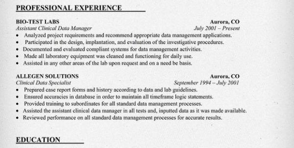 Clinical Documentation Specialist Job Description Clinical Data ...