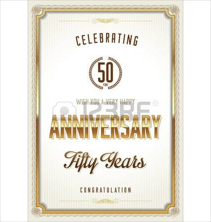 Anniversary Certificate Template Royalty Free Cliparts, Vectors ...