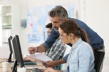 Computer Training Stock Photos & Pictures. Royalty Free Computer ...