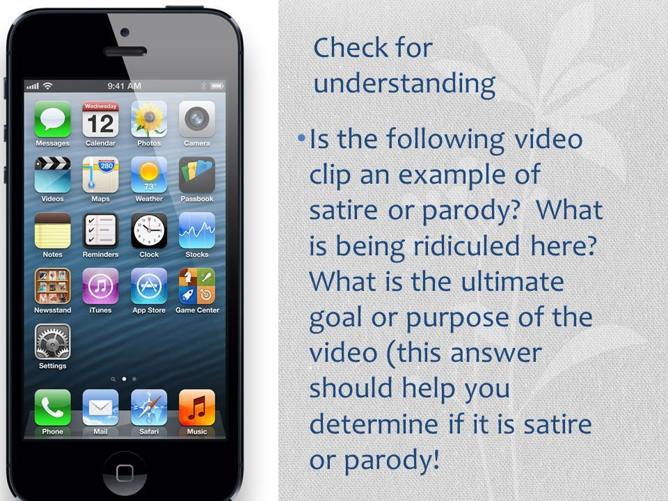 Satire vs. Parody. - ppt video online download