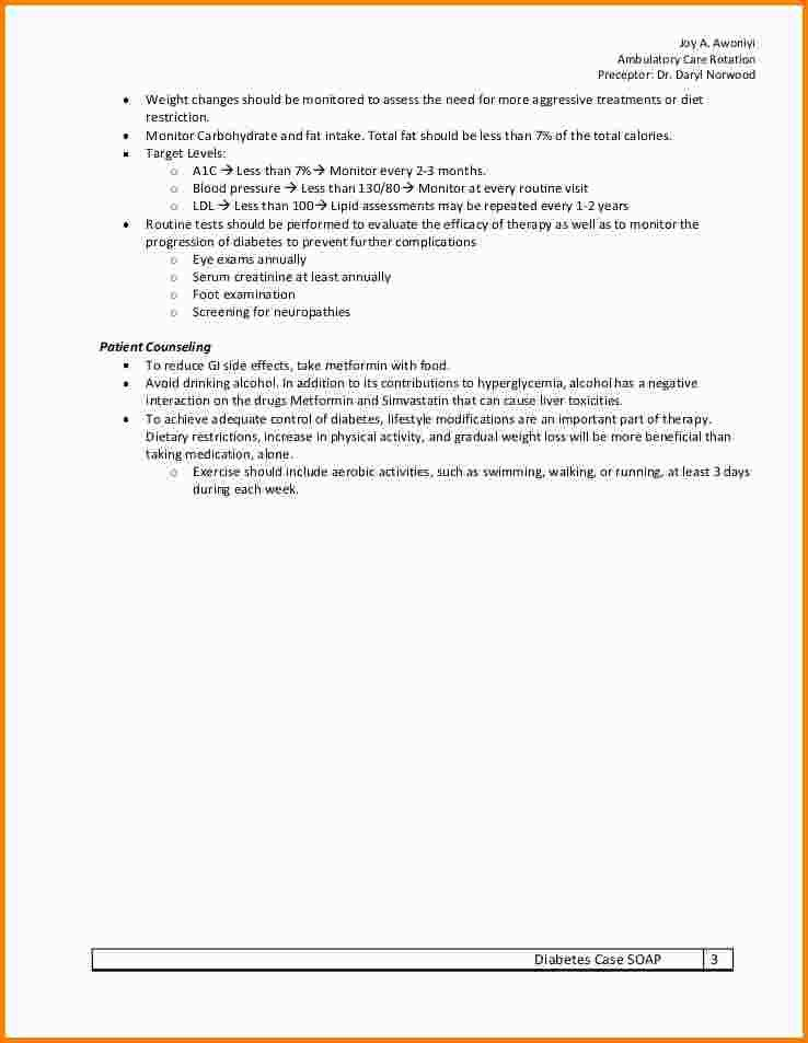 5+ example of soap note | nypd resume