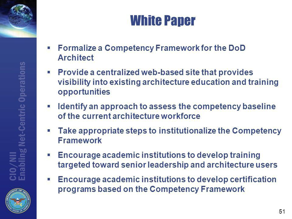 VERSION 15 4/22/ :02 DoD-CIO/ASD-NII Enterprise Architecture ...