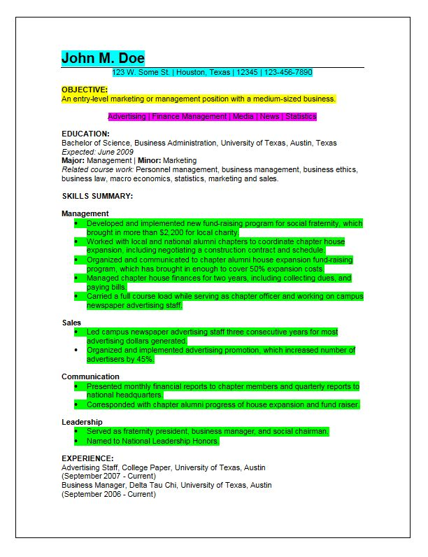 sample entry level it programmer. entry level resume templates ...