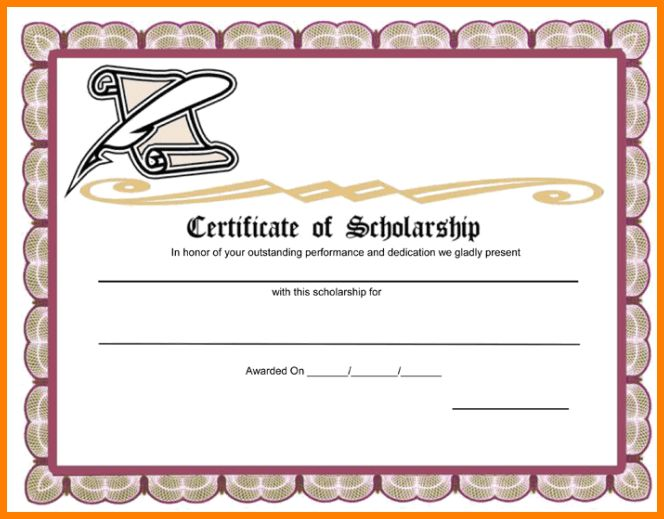 7+ scholarship award certificate wording | sample of invoice