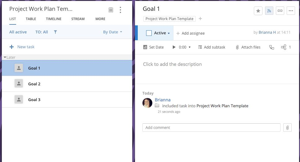 3 Step Process to Building a Project Work Plan Template in Wrike