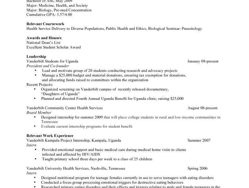 pre med resume sample urban pie sample resume of medical student