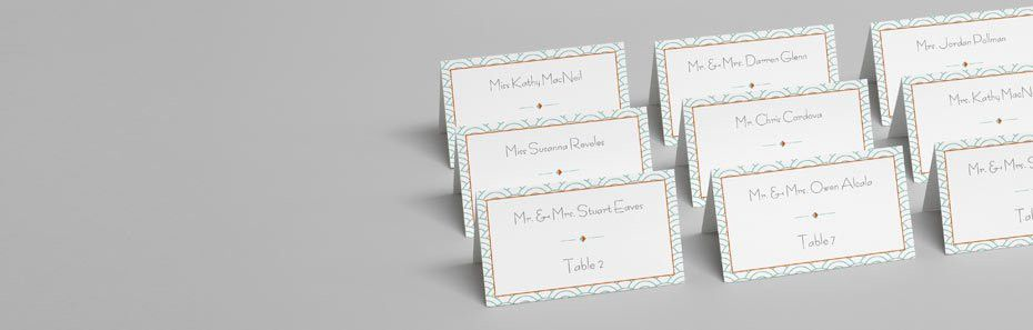 Tent Cards: Custom Printed Table & Place Cards | Avery WePrint™