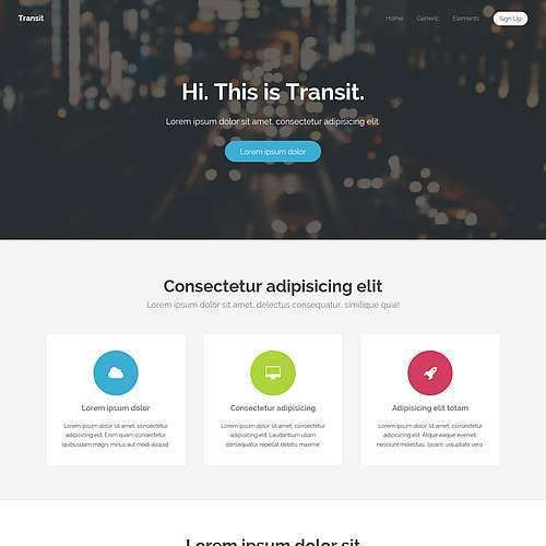 TEMPLATED - Free CSS, HTML5 and Responsive Site Templates