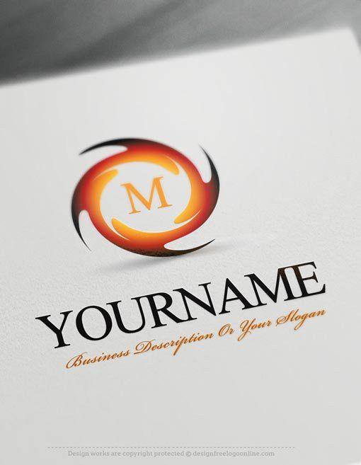 Design Free Logo: Spiral Online Logo Templates