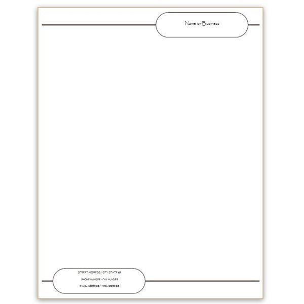 Doc.#: Stationery Templates for Word Free – Free Stationery ...